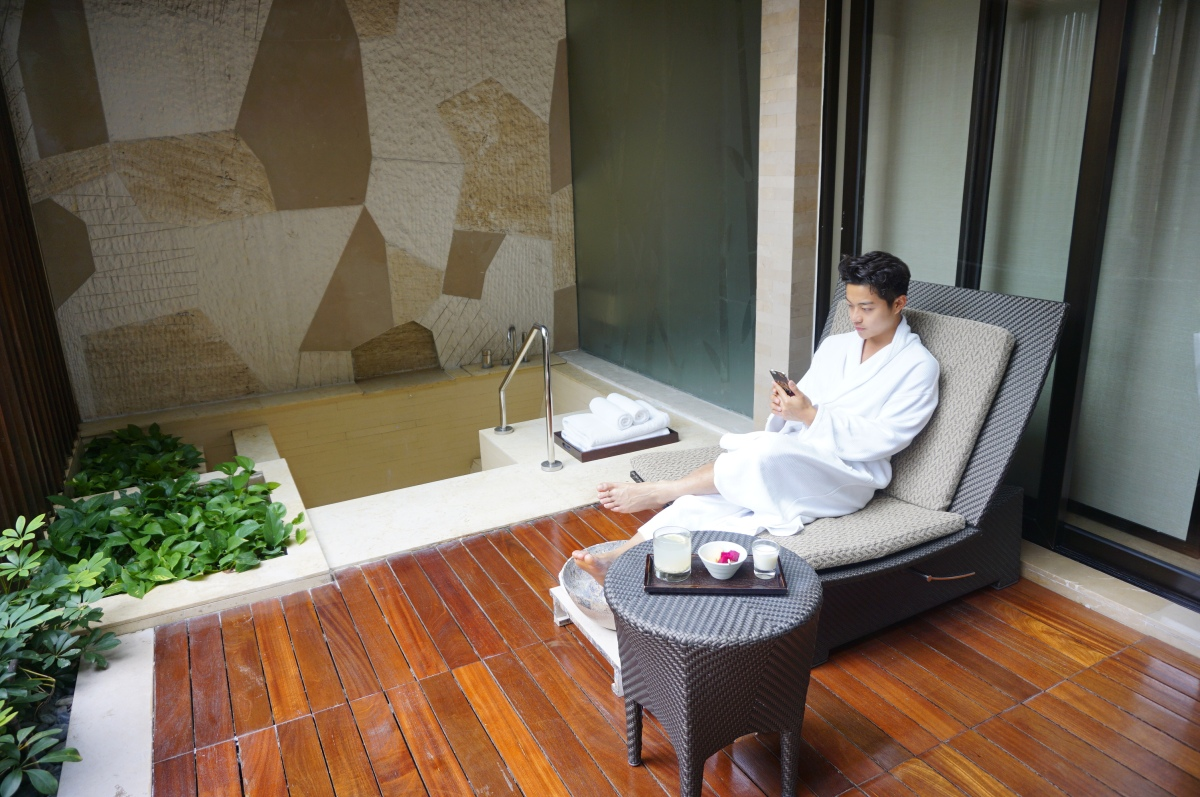 【Jerry.C 謝利|Hotel & Leisure】梳乎草球按摩 深圳Grand Hyatt酒店睡到飽