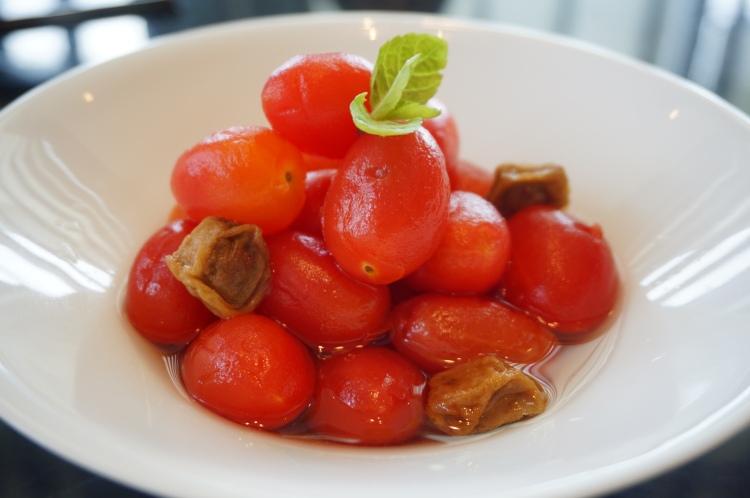 開胃涼菜---甜梅小蕃茄