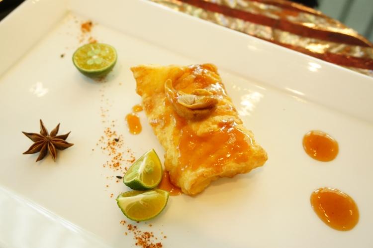 黃皮汁煎焗深海銀鱈魚