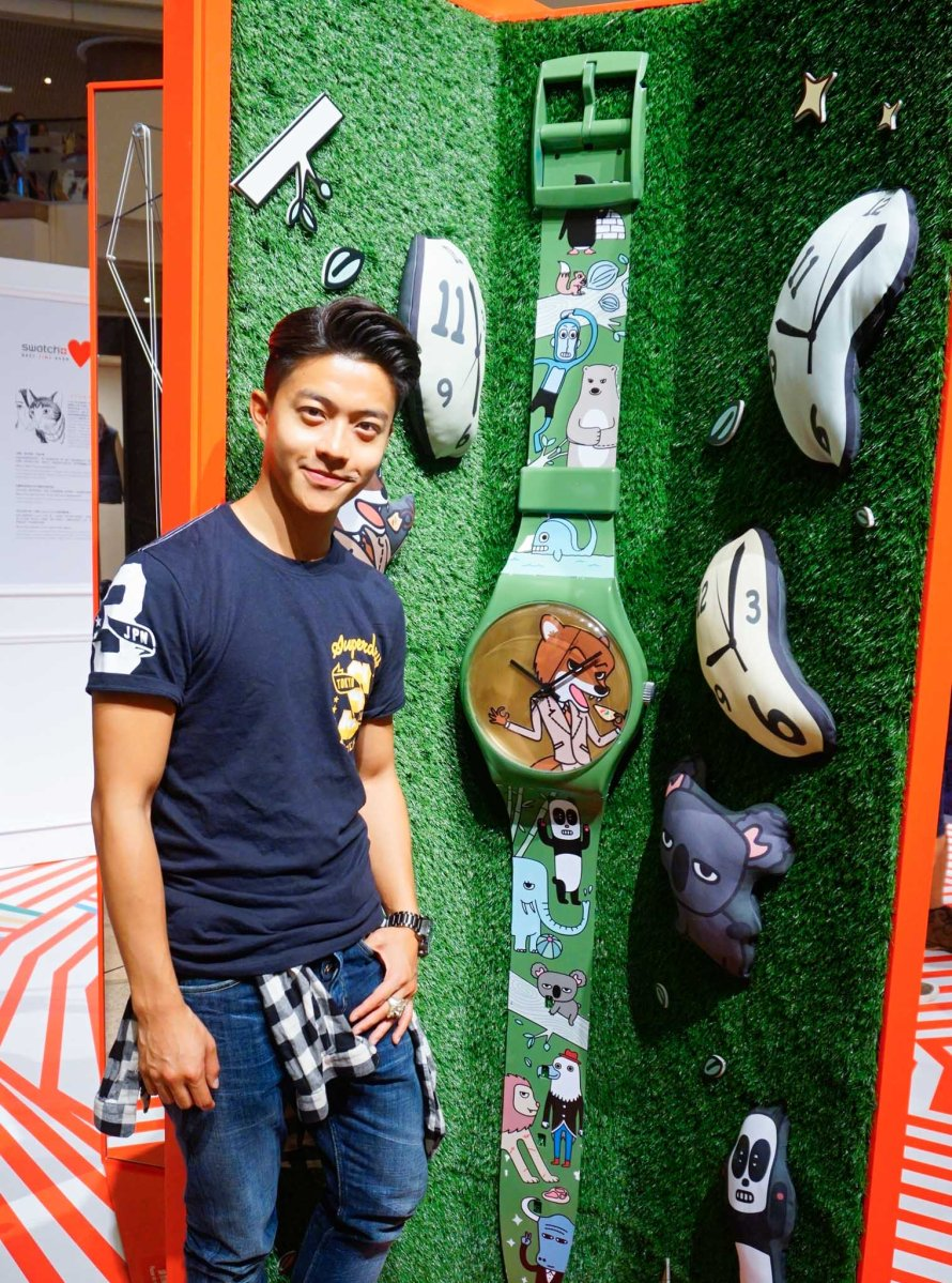 【Jerry.C 謝利|Fashion & Lifestyle】《Swatch Loves Art‧Best Time Ever》藝術展