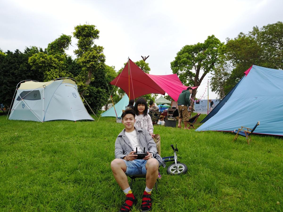 【Jerry.C 謝利|台北市區Glamping・悠閒體驗在野樂趣】