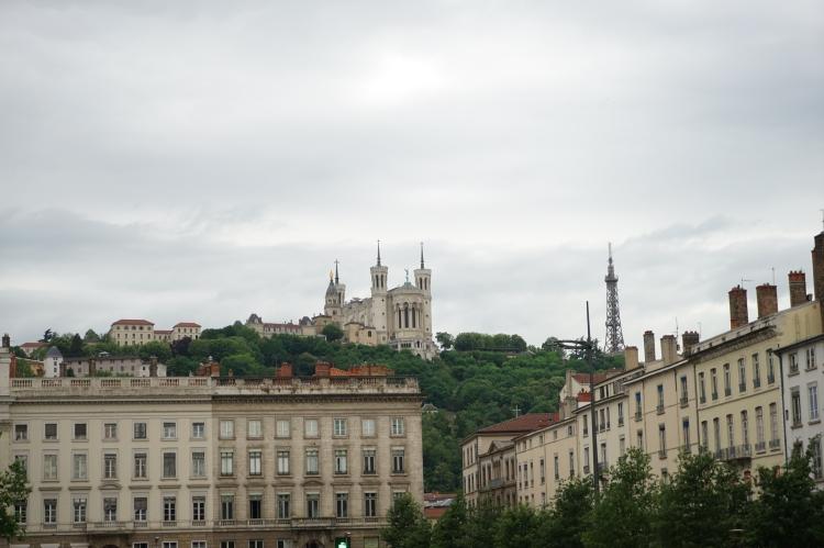 里昂舊城區的最高點